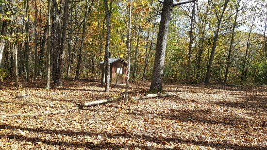 Fort Custer Recreation Area: Outhouse