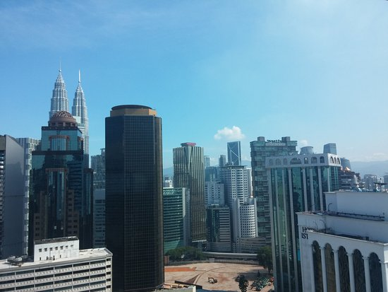 PARKROYAL Serviced Suites Kuala Lumpur : City view from 28th floor