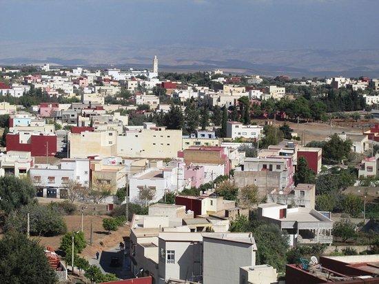 Dar KamalChaoui: Blick von der Dachterrasse