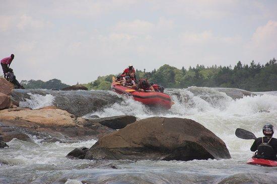 Jinja, Uganda: First rapid