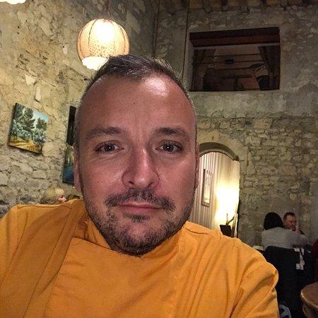 Maison Bronzini Le Bistrot du Moulin : Olivier Combe la grande surprise