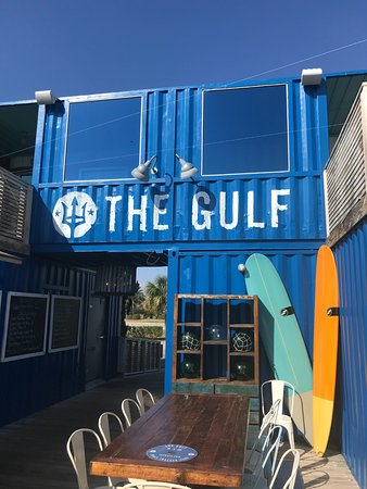 The Gulf: The shipping containers