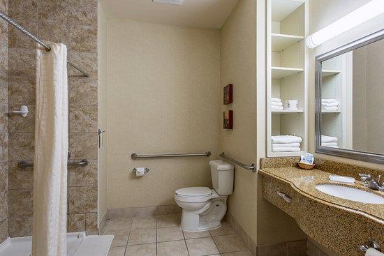 Ada Accessible Bathroom Picture Of Hotel Ruidoso Midtown