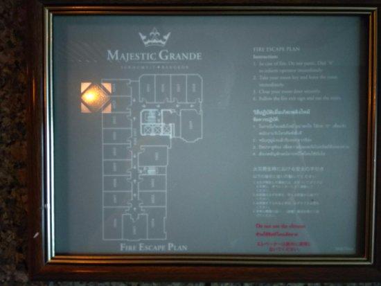 Majestic Grande Hotel: план
