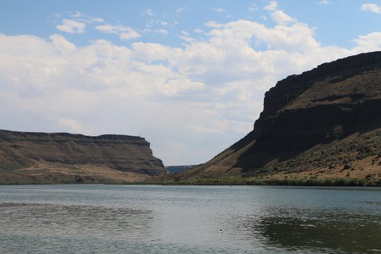 Snake River Birds of Prey National Conservation Area: Snake River Canyon at Swan Falls Dam