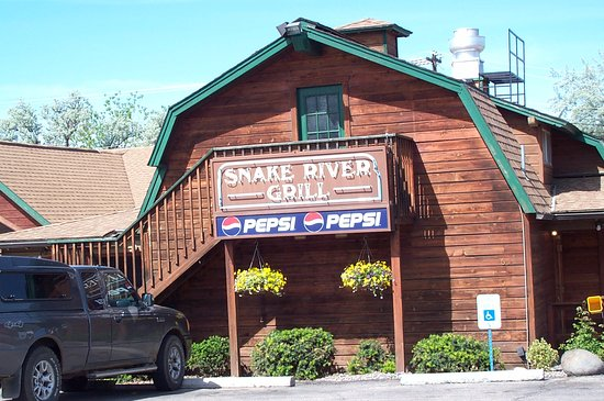 Hagerman, ID: Snake River Grill - Adjacent to the Motel - Great Food