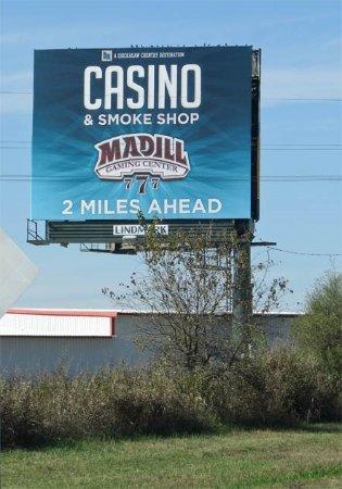 Madill, OK: billboard