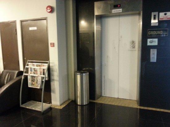Butterworth, Μαλαισία: Hotel Elevator