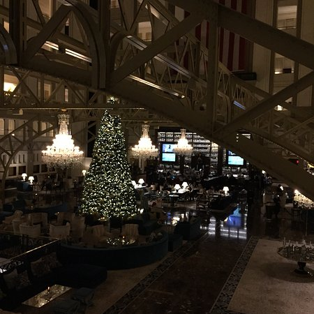 Dc Christmas Bar.All Decorated For Christmas Lobby And Bar Area Picture