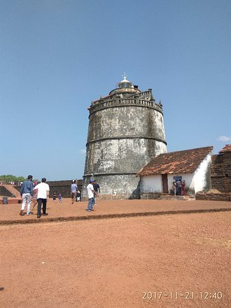 Sinquerim, Indien: The old lighthouse