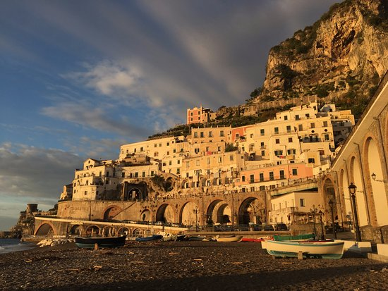 Atrani, Italy: the view from Bar Nettuno