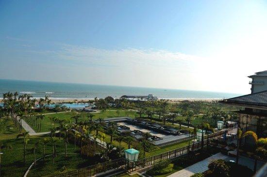 Yangjiang, จีน: View from Hotel