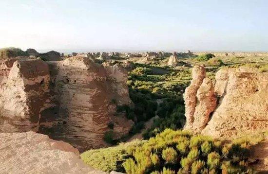 Guazhou County, الصين: Suoyangcheng Ruins 