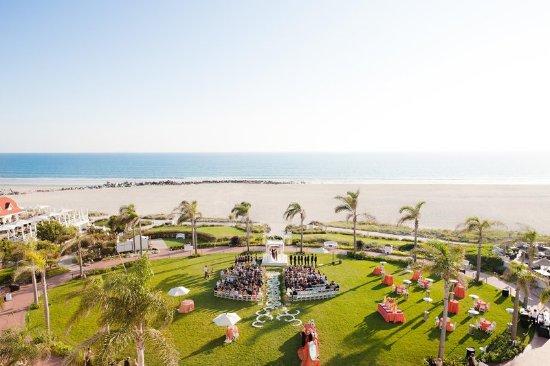 Hotel del Coronado: Windsor Lawn Event