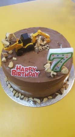 Kidz Kingdom: Buttercakes are made onsite, starting at $30.00 (Cake in pic $40.00)