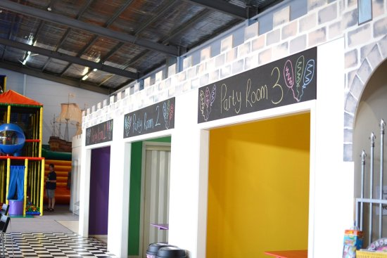 Kidz Kingdom: 3 Party Rooms available for hire for your next Birthday or function