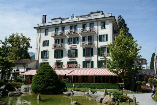 Hotel Interlaken: Hotel front