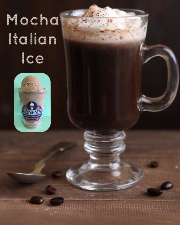 Eustis, FL: Mocha italian ice is so yummy! It's great for an afternoon pick me up!