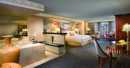 New York - New York Hotel and Casino: Marquis Suite