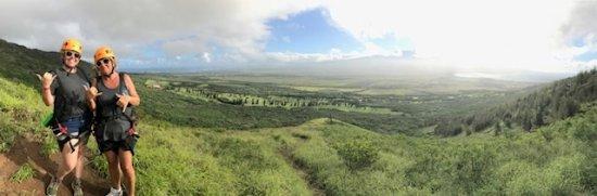 Wailuku, هاواي: Amazing view of both north and south coasts