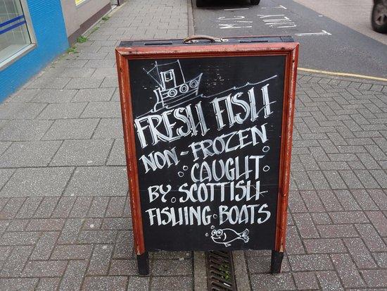 Nories: Local, fresh fish.