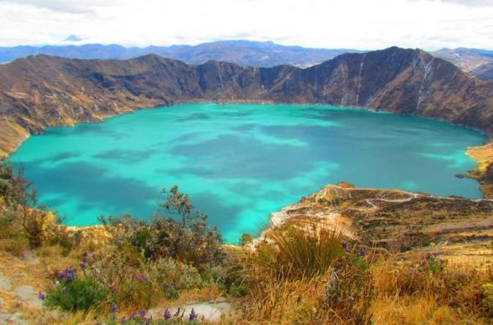 Quilotoa Lagoon and Indian Markets in...
