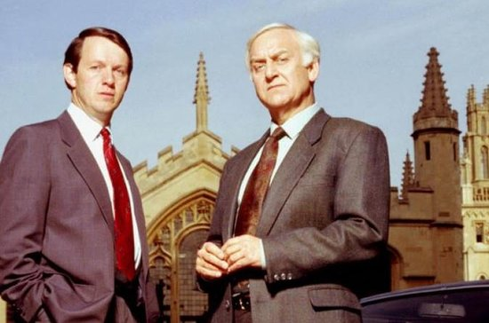 Inspector Morse Private Filming...
