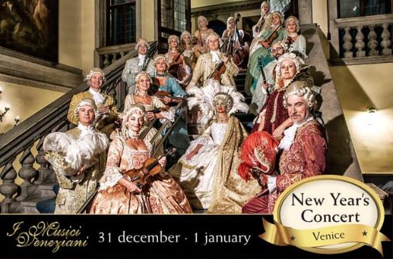 I Musici Veneziani Concierto de Año Nuevo en Venecia
