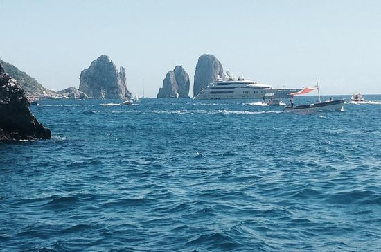 Dagstur fra Roma: Capri Private VIP...