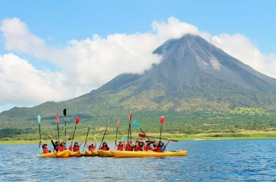 Arenal Volcano Combo 3 Lake Kayaking...
