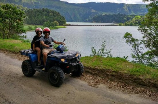 Sete Cidades Quad Bike Half Day Tour