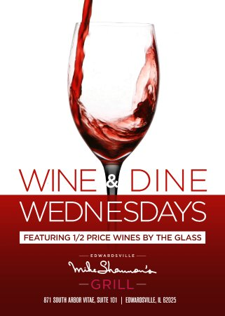 ‪‪Edwardsville‬, إلينوي: 1/2 Price Wine Wednesdays‬