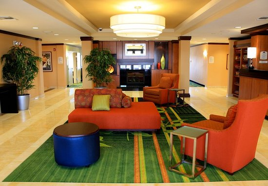 Fairfield Inn & Suites Colorado Springs North/Air Force Academy : Lobby