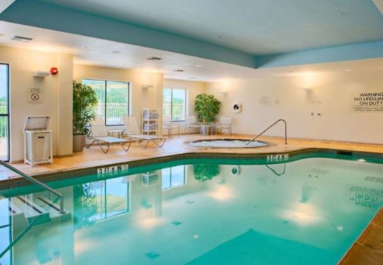 Indoor Pool & Spa - Picture of Fairfield Inn & Suites Dallas ...