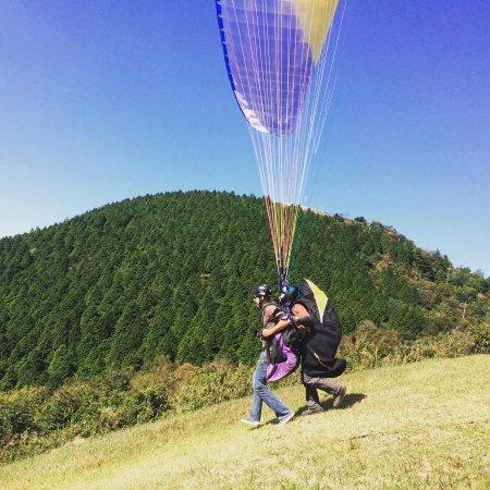 Hatsukaichi, Japan: Paragliding