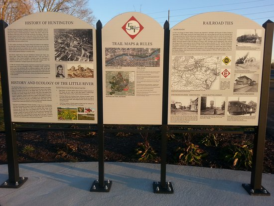 Huntington, IN: The Erie Rail Trail