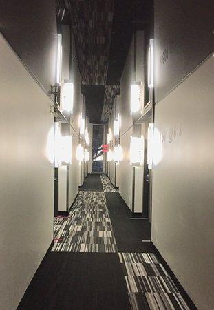 جراند تايمز هوتل شيربروك: Couloirs