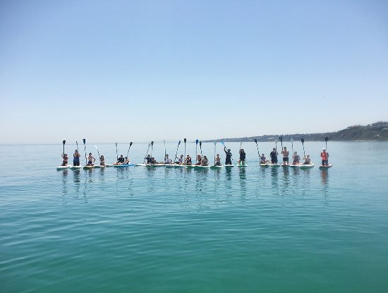 Mt Eliza, Australia: Large Group of Paddlers
