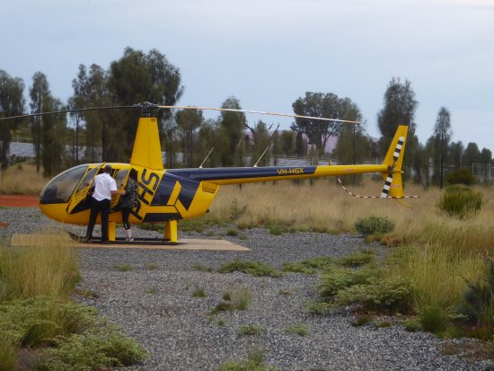Yulara, أستراليا: Chopper