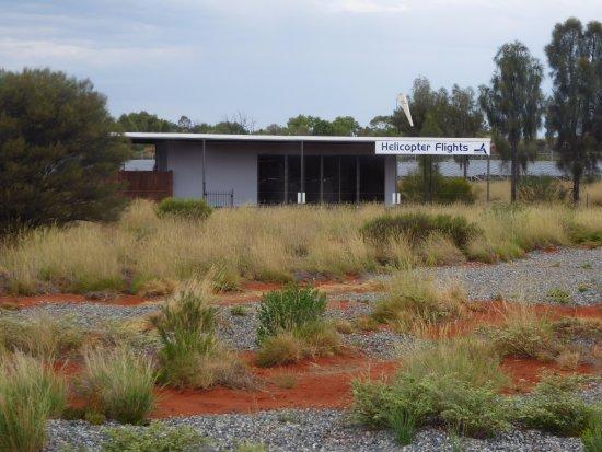 Yulara, أستراليا: Office