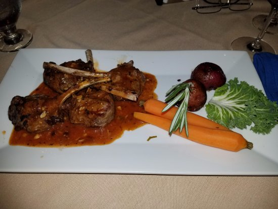 Elmont, NY: Lamb chops so delish with the flavor of rosemary!