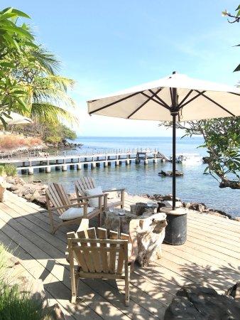 The Lombok Lodge: Breakfast spot