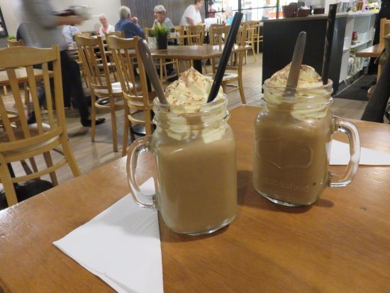 Modbury, Австралия: Iced Coffee was our morning coffee, an indulgence