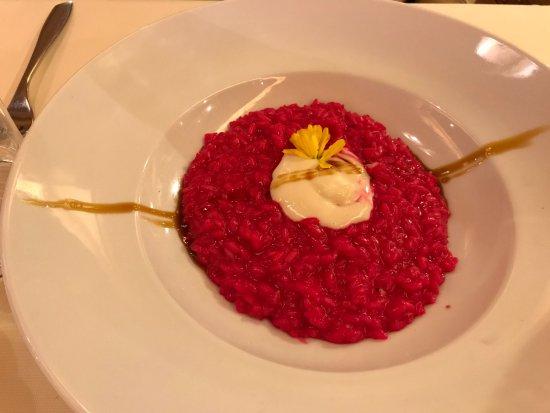 Osteria Al Gigianca : Risotto Barbabietola