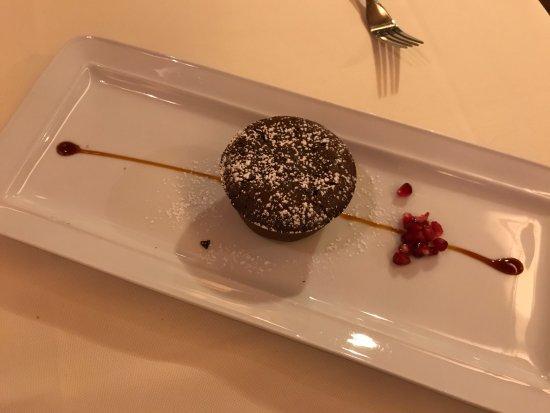 Osteria Al Gigianca : Sgonfiotto cioccolato fondente