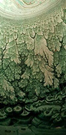 Atherton, Australia: Green round crystal 2