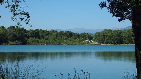 Les Mees, Frankrike: Lac des Mées