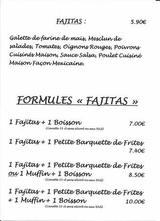Formules Fajitas
