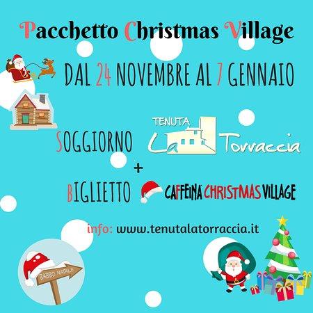 Tenuta La Torraccia Agriturismo: La nostra promozione per un Natale da favola!