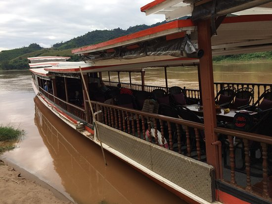 Pakbeng, Laos: The Luang Say cruise boat